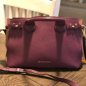 Burberry crossbody purse.